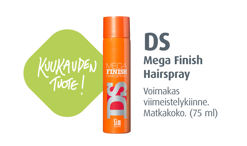 DS Mega Finish Hairspray 75 ml