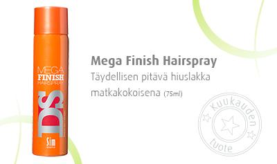 DS Mega Finish Hairspray 75 ml